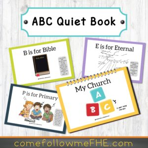 5 Sacrament Bag Essentials featured by Come Follow Me FHE