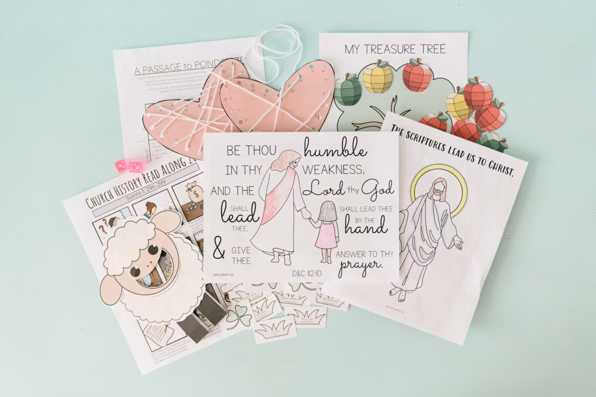 October 4 - October 10 Come Follow Me Lesson for Kids: I Will Order All Things For Your Good featured by Come Follow Me FHE